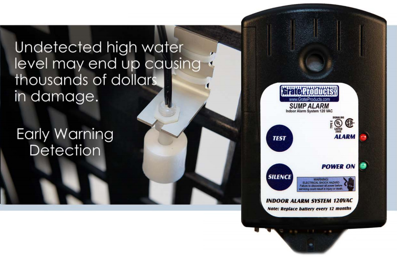 High Water Sump Alarm