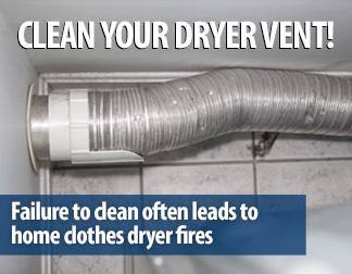 Clean Your Dryer Vent