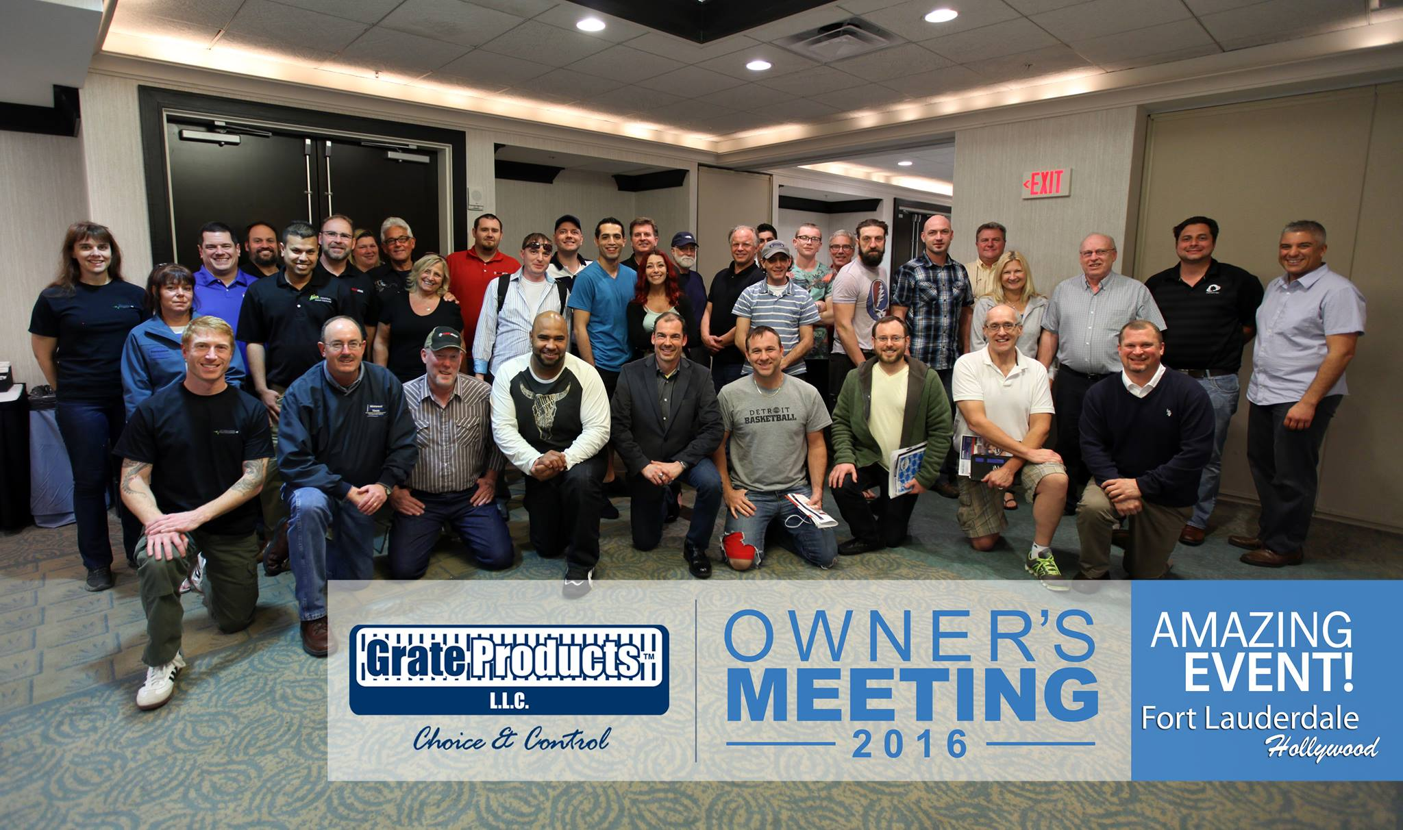 Grate Products Owners Meeting 2016 in Holywood, FL