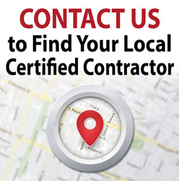 image link to contact us to find a local Certified Contractor