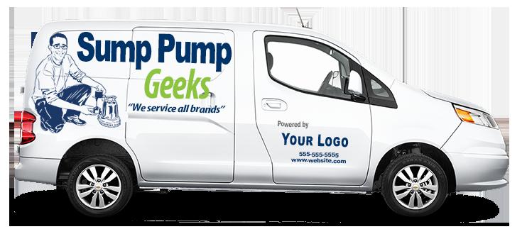 Sump Pump Geeks Van
